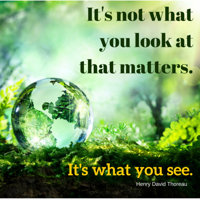 It's not what you look at that matters.