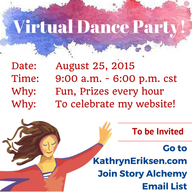 The onlly way to join the Heart Dancing Party is to sign up on my email list! KathrynEriksen.com